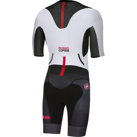 Castelli All Out Speed Suit Herren white/black
